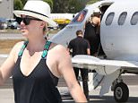 Kaley Cuoco and Karl Cook caching a private jet together with the dogs as they leave Los Angeles\n\nPictured: Kaley Cuoco and Karl Cook \nRef: SPL1303162  200616  \nPicture by: Clint Brewer / Splash News\n\nSplash News and Pictures\nLos Angeles: 310-821-2666\nNew York: 212-619-2666\nLondon: 870-934-2666\nphotodesk@splashnews.com\n