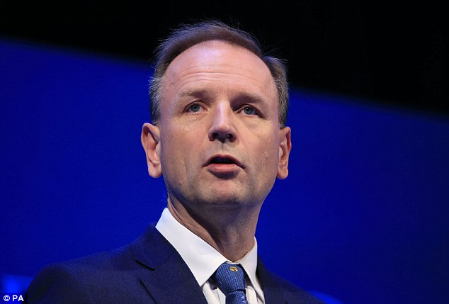 Simon Stevens, head of NHS England, pictured, said Brexit would be 'terrible' and jeopardise health care