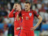 SPT_GCK_200616_Uefa Euro 2016,England v Slovakia  groupB Stade Geoffroy Guichard, Saint-Eøtienne.Picture Graham Chadwick. Wayne Rooney and Vardy