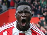 Editorial use only. No merchandising. For Football images FA and Premier League restrictions apply inc. no internet/mobile usage without FAPL license - for details contact Football Dataco Mandatory Credit: Photo by Sean Ryan/IPS/REX/Shutterstock (5634248y) Victor Wanyama of Southampton celebrates his goal. Southampton v Newcastle, Barclays Premier League Football Southampton, Newcastle, Barclays Premier League Football, St. Marys Stadium, Southampton, Britain.