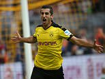 Mandatory Credit: Photo by Action Press/REX/Shutterstock (4967276k) Henrikh Mkhitaryan, bvb, Borussia Dortmund v Borussia Monchengladbach, Bundesliga football match, Germany - 15 Aug 2015