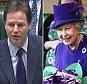 Nick Clegg / The Queen