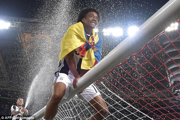 Conte is prepared to hand Juan Cuadrado another chance in the Premier League after his spell at Juventus