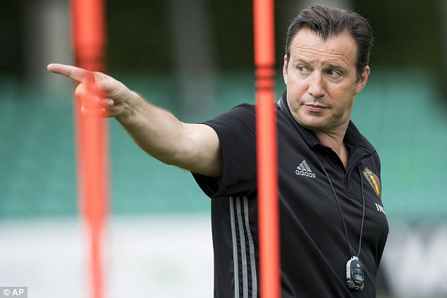 Wilmots' side face fellow Euro 2016 qualifiers Switzerland in a pre-tournament friendly in Geneva on Saturday