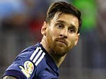 HOUSTON, TX - JUNE 21:  Lionel Messi #10 of Argentina reacts after scoring a goal on a free kick in the first half against the United States during a 2016 Copa America Centenario Semifinal match at NRG Stadium on June 21, 2016 in Houston, Texas.  (Photo by Scott Halleran/Getty Images)