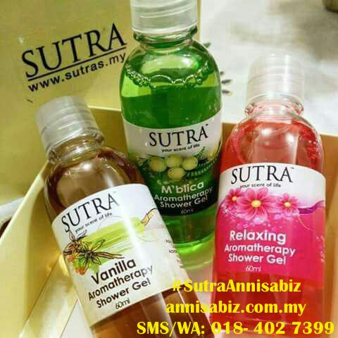 sutra aromatherapy SHOWER_GEL gift set