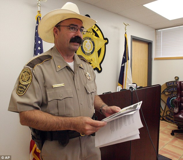 Common: Sheriff Eddie Guerra says finding decomposing bodies of immigrants in the desert is not uncommon