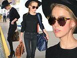 Please contact X17 before any use of these exclusive photos - x17@x17agency.com   Amazingly skinny! Johnny Depp's wife Amber Heard arriving from London at LAX after short trip to the UK ... June 22, 2016  /X17online.com