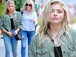 Actress Chloe Grace Moretz, wearing an Army jacket, jeans, and tennis shoes, walks to her car in New York City on June 22, 2016.\n\nPictured: Chloe Grace Moretz\nRef: SPL1306962  220616  \nPicture by: Christopher Peterson/Splash News\n\nSplash News and Pictures\nLos Angeles: 310-821-2666\nNew York: 212-619-2666\nLondon: 870-934-2666\nphotodesk@splashnews.com\n