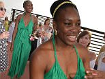 Venus Williams attends¿a private party¿at Holiday House in the Hamptons, New York on June 21, 2016.\n\nPictured: Venus Williams\nRef: SPL1306357  210616  \nPicture by: SKYLINE / Splash News\n\nSplash News and Pictures\nLos Angeles: 310-821-2666\nNew York: 212-619-2666\nLondon: 870-934-2666\nphotodesk@splashnews.com\n