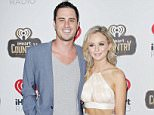AUSTIN, TX - APRIL 30:  Ben Higgins and Lauren Bushnell attend the 2016 iHeartCountry Festival at The Frank Erwin Center on April 30, 2016 in Austin, Texas.  (Photo by Tibrina Hobson/WireImage)