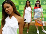 LONDON, ENGLAND - JUNE 22:  Naomie Harris attends The Boodles Tennis at Stoke Park Hotel, on June 22, 2016 in London, England.  (Photo by David M. Benett/Dave Benett/Getty Images for Boodles Tennis)