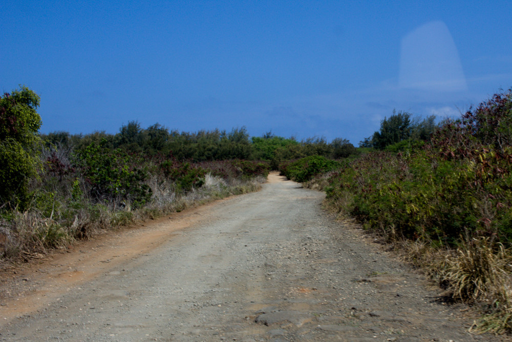 Road to Mahaulepu Beach