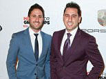 Celebrities arrive at the AARP The Magazine's 14th Annual Movies For Grownups Awards Gala in Beverly Hills, CA.....Pictured: Josh Altman and Matt Altman..Ref: SPL941721  030215  ..Picture by: @Parisa/Splash News....Splash News and Pictures..Los Angeles: 310-821-2666..New York: 212-619-2666..London: 870-934-2666..photodesk@splashnews.com..
