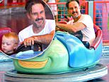 """EXCLUSIVE: David Arquette spends quality time with his son Charlie while on a fun family day at Disneyland. The pair are seen having a great time while riding the """"Tuck and Roll Drive 'em Buggies"""" bumper cars at California Adventure. David and his son were all smiles and giggled as they bumped into other cars before heading to lunch at the plaza inn in Disneyland.\n\nPictured: David Arquette and Charlie West Arquette\nRef: SPL1305918  220616   EXCLUSIVE\nPicture by: Fern /Splash News\n\nSplash News and Pictures\nLos Angeles: 310-821-2666\nNew York: 212-619-2666\nLondon: 870-934-2666\nphotodesk@splashnews.com\n"""