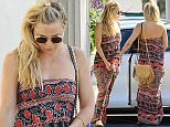 22 June 2016. Kate Hudson is pictured out in LA. Credit: BG/GoffPhotos.com   Ref: KGC-300/160622GZSV1 **UK, Spain, Italy, China, South Africa Sales Only**