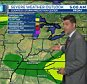 "Some real ""sticky"" weather is going to be happening down south. It might make it ""hard"" for people to stay dry.   Would you look at the shape of that thing? Kind of pointed in a weird way, but it should get the job done.   Seriously though, we love Meteorologist Nick Johnston from WTEN. He's a really good dude. Also, it looks like we're going to have a really nice weekend, so there's that."