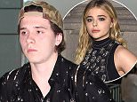 Picture Shows: Brooklyn Beckham  June 24, 2016    * Min Web / Online Fee £250 For Set *    Brooklyn Beckham seen departing on a flight to America from Terminal 5 at Heathrow Airport in London, England.    Brooklyn was dressed casually in a camouflage print cap, a patterned shirt and grey jeans with a rip in one leg.    * Min Web / Online Fee £250 For Set *    Exclusive All Rounder  WORLDWIDE RIGHTS  Pictures by : FameFlynet UK © 2016  Tel : +44 (0)20 3551 5049  Email : info@fameflynet.uk.com