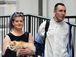 Picture Shows: Kelly Osbourne  May 28, 2016.. .. Television personality Kelly Osbourne is spotted out and about alongside a mystery man in New York City, New York... .. Kelly, who was also carrying her cute Pomeranian pup during the outing, recently made headlines after tweeting the phone number of her father, Ozzy Osbourne's, alleged mistress on Twitter... .. Exclusive All Rounder.. UK RIGHTS ONLY.. Pictures by : FameFlynet UK © 2016.. Tel : +44 (0)20 3551 5049.. Email : info@fameflynet.uk.com