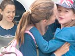 EXCLUSIVE TO INF.\nJune 24, 2016: Jennifer Garner is strong as she carries daughter Seraphina Affleck, in a Union Jack cap, out of the car while picking up treats in Los Angeles, CA.  Garner's ex Ben Affleck appeared to be drunk while on a recent interview for 'Any Given Wednesday with Bill Simmons' while talking about Deflategate.  \nMandatory Credit: Mariotto/INFphoto.com Ref.: infusla-244/300