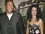 LOS ANGELES - OCTOBER 6:  Jermaine Jackson (L) and Alejandra Genevieve Oiaza (R) arrives at the 20th Anniversary Celebration of Larry King Live at Spago on October 6, 2005 in Los Angeles, California. (Photo by Michael Buckner/Getty Images) *** Local Caption *** Jermaine Jackson;Alejandra Genevieve Oiaza