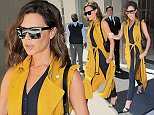 Victoria Beckham wears another canary yellow outfit in New York\n\nPictured: Victoria Beckham\nRef: SPL1308295  240616  \nPicture by: Jackson Lee¿/ Splash News\n\nSplash News and Pictures\nLos Angeles: 310-821-2666\nNew York: 212-619-2666\nLondon: 870-934-2666\nphotodesk@splashnews.com\n