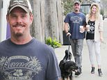 EXCLUSIVE TO INF.\nJune 24, 2016: Kevin Dillion and new girlfriend are all smiles as the new lovely duo\nwalks there pooch and grab coffee in Malibu, CA.\nMandatory Credi: Mariotto/Borisio/INFphoto.com Ref.: infusla-244/277