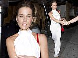 Kate Beckinsale was seen wearing All White outfit as she left 'The Nice Guy' bar in West Hollywood, CA\n\nPictured: Kate Beckinsale\nRef: SPL1308687  240616  \nPicture by: SPW / Splash News\n\nSplash News and Pictures\nLos Angeles: 310-821-2666\nNew York: 212-619-2666\nLondon: 870-934-2666\nphotodesk@splashnews.com\n