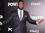 """Celebrities attends the Season Three New York Premiere of """"Power""""....Pictured: Curtis """"50 Cent"""" Jackson..Ref: SPL1306963  220616  ..Picture by: Photo Image Press....Splash News and Pictures..Los Angeles: 310-821-2666..New York: 212-619-2666..London: 870-934-2666..photodesk@splashnews.com.."""