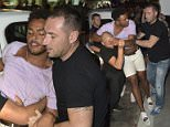 26 Jun 2016  - Kavos  - Greece *** EXCLUSIVE ALL ROUND PICTURES *** Geordie Shores Nathan Henry has to be carried from the club by 4 doormen. The Geordie cast were filming for series 13 at Future Nightclub on the Strip in Kavos. Nathan had been drinking most of the afternoon as the cast had been to a pool party earlier in the day, he was carried out of the club by 4 doormen and put into a taxi.  BYLINE MUST READ : XPOSUREPHOTOS.COM ***UK CLIENTS - PICTURES CONTAINING CHILDREN PLEASE PIXELATE FACE PRIOR TO PUBLICATION *** **UK CLIENTS MUST CALL PRIOR TO TV OR ONLINE USAGE PLEASE TELEPHONE  442083442007