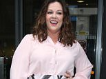 LONDON, ENGLAND - JUNE 17:  Melissa McCarthy seen at BBC Radio 2 promoting the Ghostbusters movie on June 17, 2016 in London, England.  (Photo by Neil Mockford/Alex Huckle/GC Images)