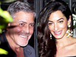 24.June.2016 - Lake Como - Italy\n**EXCLUSIVE PICTURES**\n**AVAILABLE FOR UK, USA AND AUSTRALIA**\nHollywood actor George Clooney with his wife Amal Clooney spend some quality time together as they dine at the Gatto Nero Restaurant in Cernobbio, Lake Como.\nBYLINE MUST READ : XPOSUREPHOTOS.COM\n***UK CLIENTS - PICTURES CONTAINING CHILDREN PLEASE PIXELATE FACE PRIOR TO PUBLICATION***\nUK CLIENTS MUST CALL PRIOR TO TV OR ONLINE USAGE PLEASE TELEPHONE 0208 344 2007