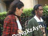 kendall with Assap Rocky