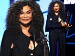 Tina Knowles accepts the award for video of the year on behalf of Beyonce for ìFormationî at the BET Awards at the Microsoft Theater on Sunday, June 26, 2016, in Los Angeles. (Photo by Matt Sayles/Invision/AP)