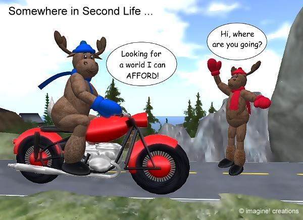Somewhere in Second Life ...
