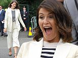 29 Jun 2016 - London - UK  Gemma Arterton seen arriving for The Championships at Wimbledon.    BYLINE MUST READ : XPOSUREPHOTOS.COM  ***UK CLIENTS - PICTURES CONTAINING CHILDREN PLEASE PIXELATE FACE PRIOR TO PUBLICATION ***  **UK CLIENTS MUST CALL PRIOR TO TV OR ONLINE USAGE PLEASE TELEPHONE   44 208 344 2007 **