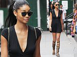 Mandatory Credit: Photo by Buzz Foto/REX/Shutterstock (5737578e)\nChanel Iman\nChanel Iman out and about, New York, USA - 27 Jun 2016\n