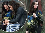 Exclusive... 52103001 Pregnant actress Liv Tyler and her father Steven Tyler spend some father/daughter time together with her kids in New York City, New York on June 23, 2016. Steven could be seen playing with his grandkids Milo Langdon and Sailor Gardner and also touching Liv's baby bump as they rested on a nearby bench. FameFlynet, Inc - Beverly Hills, CA, USA - +1 (310) 505-9876