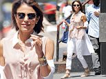 """*EXCLUSIVE* Manhattan, NY - Bethenny Frankel is seen downing a chocolate drink...a """"Skinny Girl"""" chocolate drink that is! The reality-TV star sipped from her own brand, while popping some bite sized treats in her mouth around SoHo.\nAKM-GSI      June 27, 2016\nTo License These Photos, Please Contact :\nMaria Buda\n(917) 242-1505\nmbuda@akmgsi.com\nsales@akmgsi.com\nor\nMark Satter\n(317) 691-9592\nmsatter@akmgsi.com\nsales@akmgsi.com\nwww.akmgsi.com"""