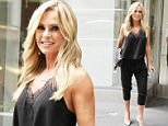 June 27, 2016: Tamra Judge at Jenny McCarthy Show on SiriusXM in New York City.\nMandatory Credit: Roger Wong/INFphoto.com  Ref: infusny-146