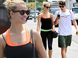 New York, NY - CoverGirl model, Hailey Clauson takes a casual stroll with her beau, Julian Herrera in SoHo. The pair look very athletics-chic in fitted workout attire and facially dominating shades. \nAKM-GSI      June 27, 2016\nTo License These Photos, Please Contact :\nMaria Buda\n(917) 242-1505\nmbuda@akmgsi.com\nsales@akmgsi.com\nor\nMark Satter\n(317) 691-9592\nmsatter@akmgsi.com\nsales@akmgsi.com\nwww.akmgsi.com