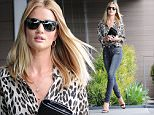 Picture Shows: Rosie Huntington-Whiteley  June 27, 2016\n \n Model Rosie Huntington-Whiteley is spotted stopping by her office in West Hollywood, California. Rosie has been posting her new Bulgari campaign pictures all over her social media for the past week. \n \n Non-Exclusive\n UK RIGHTS ONLY\n \n Pictures by : FameFlynet UK © 2016\n Tel : +44 (0)20 3551 5049\n Email : info@fameflynet.uk.com