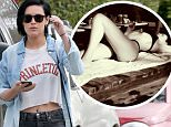 Picture Shows: Rumer Willis  June 28, 2016\n \n Rumer Willis is seen in visiting a friend in Santa Monica, California. She was wearing a 'Princeton' crop t-shirt under a blue button up with grey jeans. \n \n Non-Exclusive\n UK RIGHTS ONLY\n \n Pictures by : FameFlynet UK © 2016\n Tel : +44 (0)20 3551 5049\n Email : info@fameflynet.uk.com