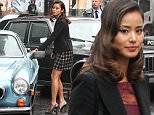 """Donal Logue and Jamie Chung will play a reporter named Valerie Vale at the FOX Network series """"Gotham"""" set in Williamsburg, Brooklyn\n\nPictured: Jamie Chung\nRef: SPL1309927  280616  \nPicture by: Jose Perez / Splash News\n\nSplash News and Pictures\nLos Angeles: 310-821-2666\nNew York: 212-619-2666\nLondon: 870-934-2666\nphotodesk@splashnews.com\n"""