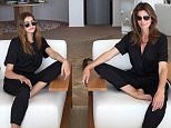 """28-6-2016 Cindy Crawford writes """"in @CoandCo. Loving the jumpsuits @CocoRocha! Pictured: Cindy Crawford and daughter  PLANET PHOTOS www.planetphotos.co.uk info@planetphotos.co.uk +44 (0)20 8883 1438"""
