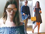 Exclusive... 52105907 Couple Anne Hathaway and Adam Shulman seen leaving an office building in Los Angeles, California on June 27, 2016. The pair did not have their son Jonathan with them, who was born on March 24, 2016. FameFlynet, Inc - Beverly Hills, CA, USA - +1 (310) 505-9876