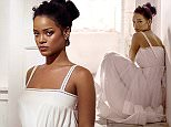 RIHANNA GOES FOR ANGELIC LOOK\n\nThe Bajan-born singer escapes the world of provacative,sexy fashion for a sweet, demure look  in thee new pictures to promote her AntiDiary album.\n\n75596\nEDITORIAL USE ONLY