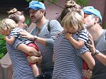 EXCLUSIVE TO INF.\nJune 27, 2016:  Pregnant Olivia Wilde and Jason Sudeikis are seen sharing a moment with their son Otis, before Sudeikis is seen getting into a cab, New York City.  \nMandatory Credit: Peter Cepeda/INFphoto.com Ref.:  infusny-259
