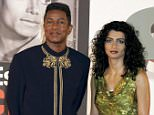 BERLIN - JULY 22: Jermaine Jackson (L) and wife Halima Rashid (R) arrive on the red carpet for Joe Jackson's birthday party July 22, 2005 in Berlin, Germany. Joe Jackson, Michael Jackson's father, is celebrating his 76th birthday in the German capital with several of his children and 1,000 fans. (Photo by Andreas Rentz/Getty Images)
