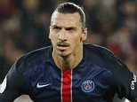 A file picture dated 04 October 2015 shows Paris Saint Germain player Zlatan Ibrahimovic celebrates scoring a second penalty kick during the French soccer Ligue 1 match between Paris Saint Germain (PSG) and Olympique Marseille at the Parc des Princes stadium in Paris, France. Ibrahimovic announced via Twitter that he will leave Paris Saint-Germain at the end of this season.  EPA/IAN LANGSDON